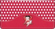Click on Betty Boop Vintage Leather Side Tear Style Checkbook Cover For More Details
