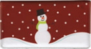 Click on Snowman Side Tear Checkbook Cover For More Details