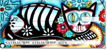 Click on Farley Day of the Dead Personal Checks For More Details