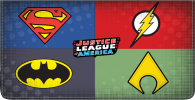 Click on The Justice League Checkbook Cover For More Details