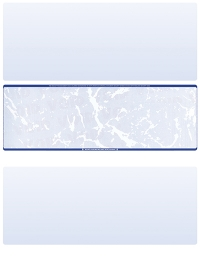Click on Blue Marble Blank Stock for Computer Voucher Checks Middle Style For More Details