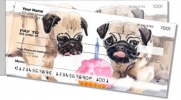 Click on Pugs Side Tear Personal Checks For More Details