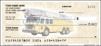 Click on Modern Fire Trucks - 1 box Personal Checks For More Details
