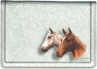 Click on Horses Top Stub Fabric Checkbook Cover For More Details