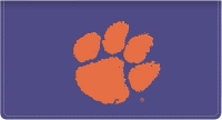 Click on Clemson Fabric Checkbook Cover For More Details