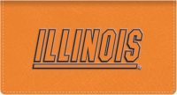 Click on Illinois TM Leather Checkbook Cover For More Details