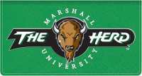 Click on Marshall TM Leather Checkbook Cover For More Details