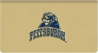 Click on Pittsburgh TM Leather Checkbook Cover For More Details