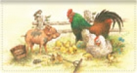 Click on Barnyard Babies Leather Checkbook Cover For More Details