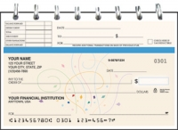 Click on Confetti Top Stub Personal Checks For More Details
