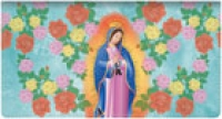 Click on Our Lady of Guadalupe Fabric Checkbook Cover For More Details