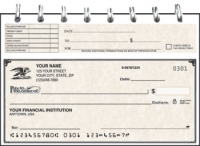 Click on Vintage Top Stub Personal Checks For More Details