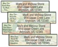 Click on Irish Blessings Address Labels For More Details