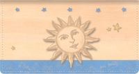 Click on Sun & Moon Fabric Checkbook Cover For More Details