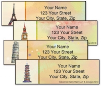 Click on Towers of the World Address Labels For More Details