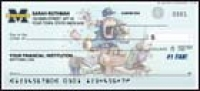 Click on Michigan #1 Fan - 1 box Personal Checks For More Details