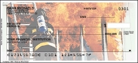 Click on Firefighter - 1 box Personal Checks For More Details