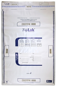 Click on Deposit Bag 22'' X 33'' TripLok, white For More Details