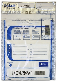 Click on Deposit Bag 9'' X 12'' TripLok, clear w/pocket For More Details