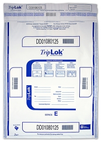 Click on Deposit Bag 15'' X 20'' TripLok, white For More Details
