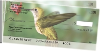Coupon for Hummingbirds Side Tear Personal Checks from Carousel Checks