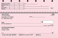 Click on Pink Safety Top Stub Personal Checks For More Details