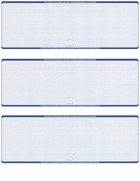 Click on Blue Safety Blank High Security 3 Per Page Laser Checks For More Details