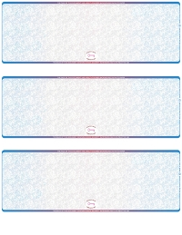 Click on Blue Red Blank High Security 3 Per Page Laser Checks For More Details