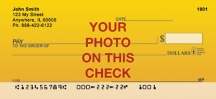 Click on Custom Photo Personal Checks For More Details