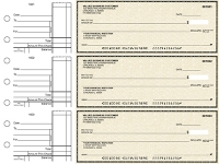 Click on Tan Parchment Standard Business Checks For More Details