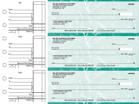 Click on Teal Marble Standard Business Checks For More Details