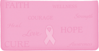Click on Hope for the Cure Checkbook Cover For More Details