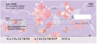 Click on Cherry Blossoms Personal Checks For More Details