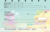 Click on Cute Marine Life Top Stub Personal Checks For More Details