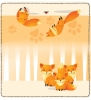 Click on Playful Foxes Leather Checkbook Cover For More Details