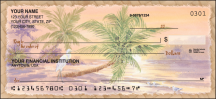 Click on Palm Trees Scenic - 1 Box Personal Checks For More Details
