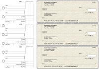 Click on Tan Parchment Standard Counter Signature Business Checks For More Details