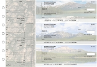 Click on Scenic Mountains Standard Counter Signature Business Checks For More Details