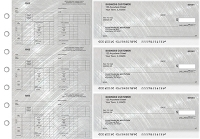 Click on Brushed Metal Multi-Purpose Counter Signature Business Checks For More Details