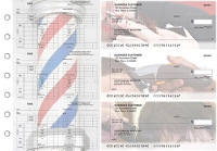 Click on Barber Multi-Purpose Counter Signature Business Checks For More Details