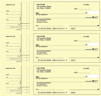 Click on Deskset Style 2 Yellow Safety Personal Checks For More Details