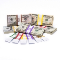 Click on Color-Coded High Dollar Currency Band Set For More Details