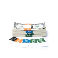 Click on Saw-Tooth Color-Coded Low Dollar Currency Band Set For More Details