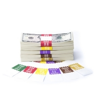 Click on Saw-Tooth Color-Coded High Dollar Currency Band Set For More Details
