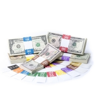 Click on Saw-Tooth Color-Coded Complete Currency Band Set For More Details