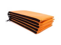 Click on Orange Zipper Bank Bag 5.5 X 10.5 For More Details