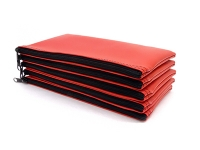 Click on Red Zipper Bank Bag 5.5 X 10.5 For More Details