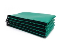 Click on Green Zipper Bank Bag 5.5 X 10.5 For More Details