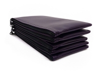 Click on Purple Zipper Bank Bag 5.5 X 10.5 For More Details