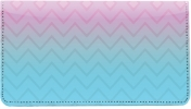 Click on Sunset Chevron Leather Checkbook Cover For More Details